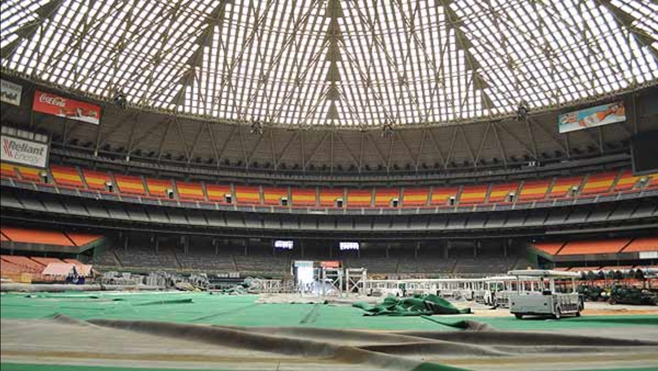 What's left inside the Astrodome